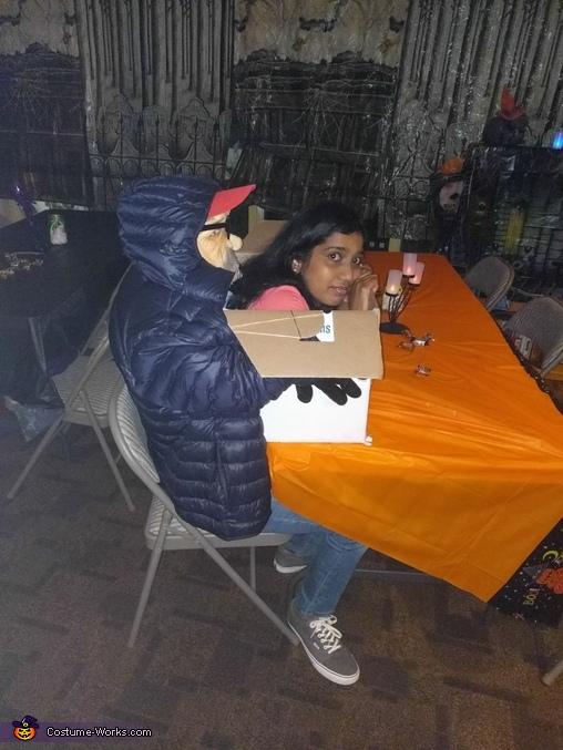 Kidnapper's Victim Homemade Costume