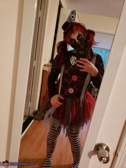 Killer Clown Homemade Costume