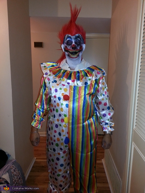 killer cliwn2, Killer Clown Costume