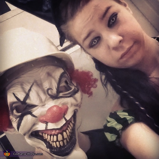 Killer clown and witchy poo, Killer Clown Costume