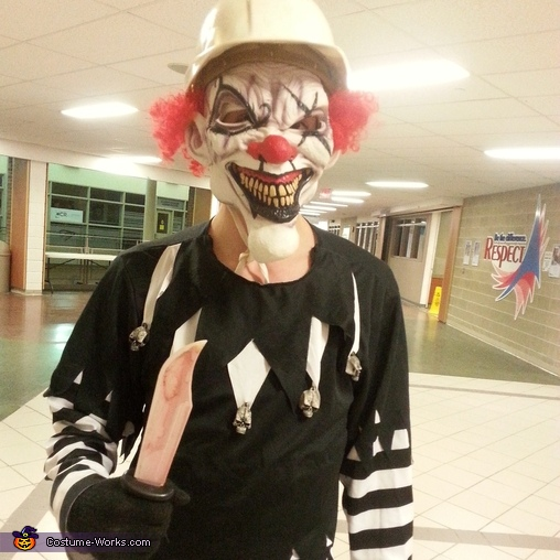 Killer Clown Costume