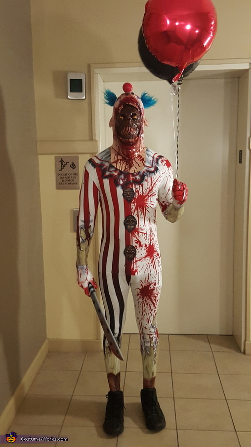 Mr. Monster 'Killer Clown', Killer Clown and Ms. Harlequin Costume
