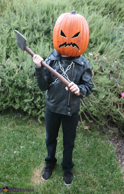 Homemade fictional character costumes costume works killer pumpkin diy costume solutioingenieria Images