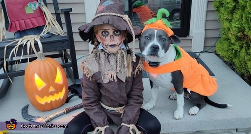 Killer Scarecrow Homemade Costume