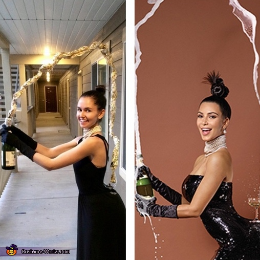 Kim Kardashian Breaking the Internet Costume