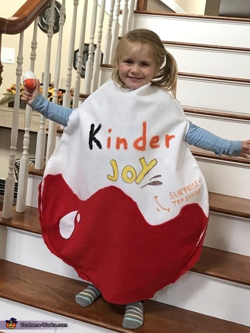Kinder Egg Costume