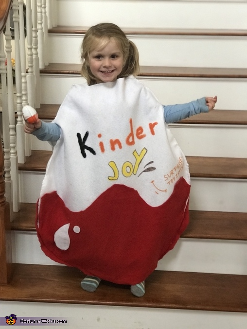 Kinder Egg Homemade Costume