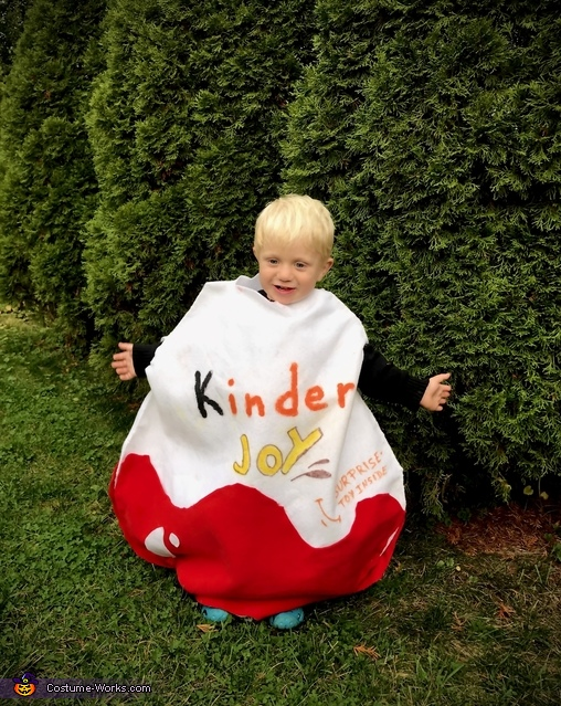 Kinder Joy Costume