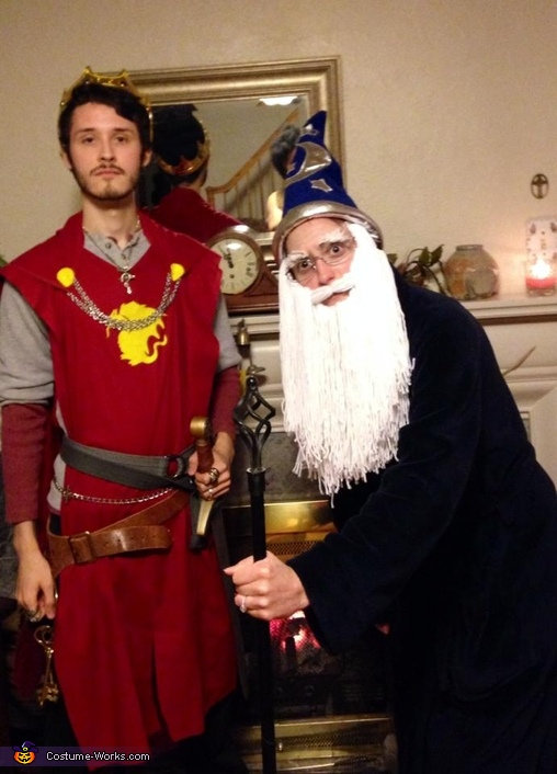 King Arthur and Merlin Costume