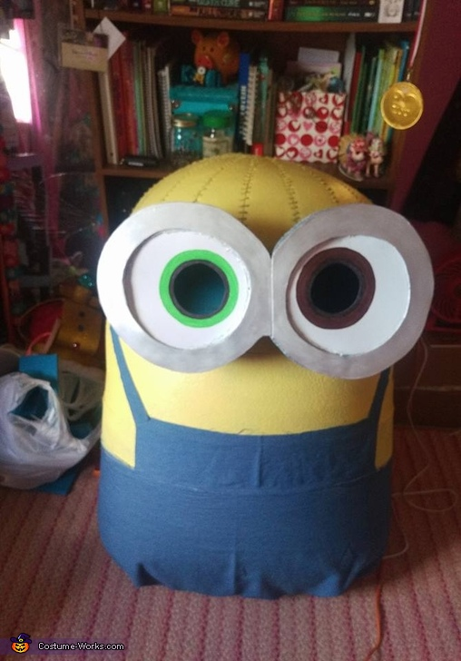 Work In Progress picture, King Bob the Minion Costume