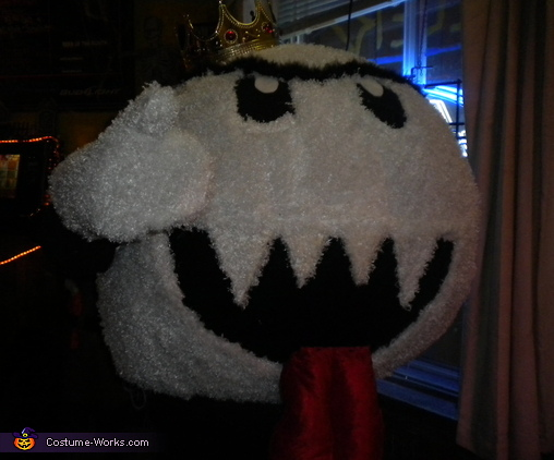 King Boo from Mario Costume & King Boo from Mario Homemade Halloween Costume