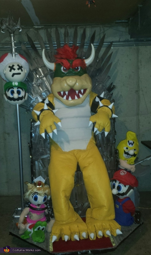 King Bowser and the Game of Thrones Costume