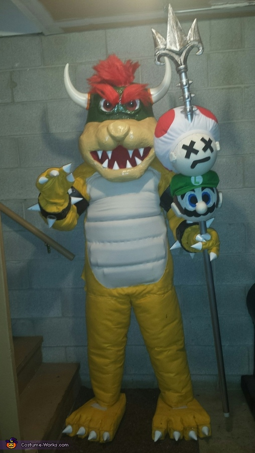 King Bowser!, King Bowser and the Game of Thrones Costume