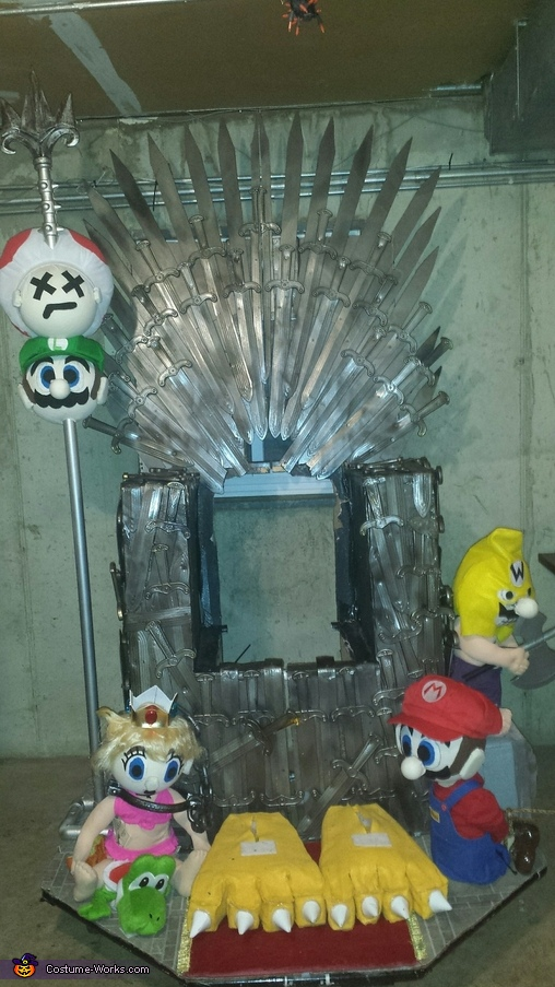 Almost Done!, King Bowser and the Game of Thrones Costume