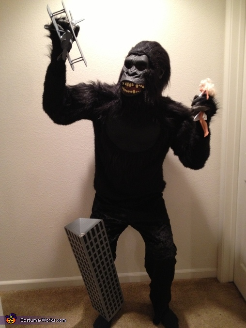 Homemade King Kong Costume