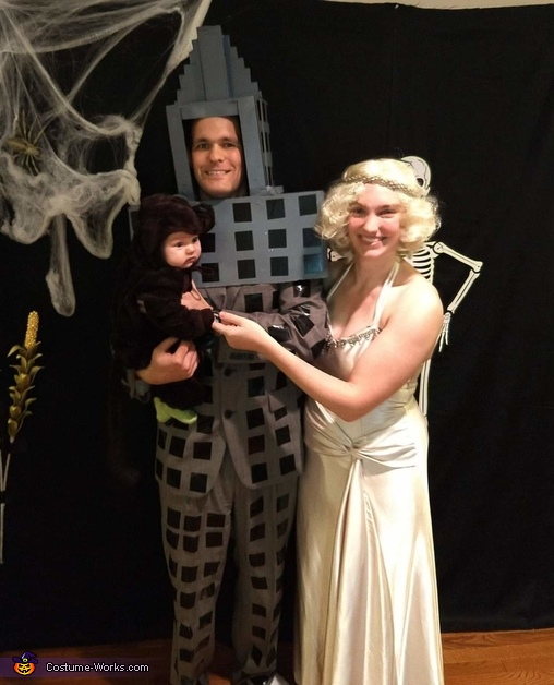 King Kong, Ann Darrow and the Empire State Building Costume