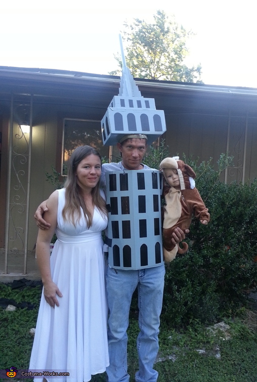 King Kong Family Costume
