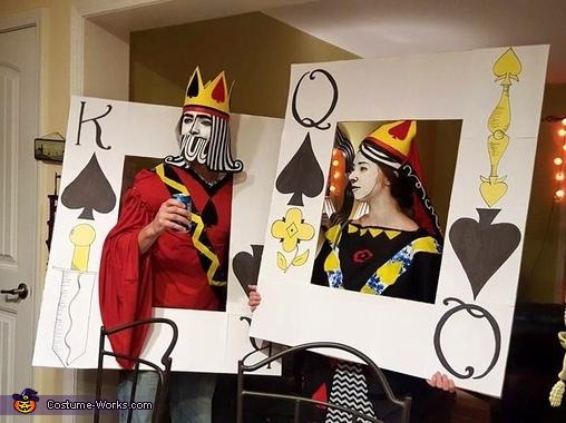 King & Queen of Spades Costume