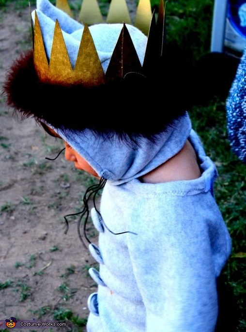 King of All Wild Things Homemade Costume