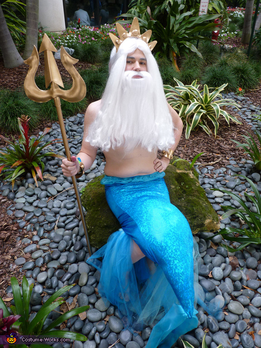 King Triton, Ruler of Atlantica Costume