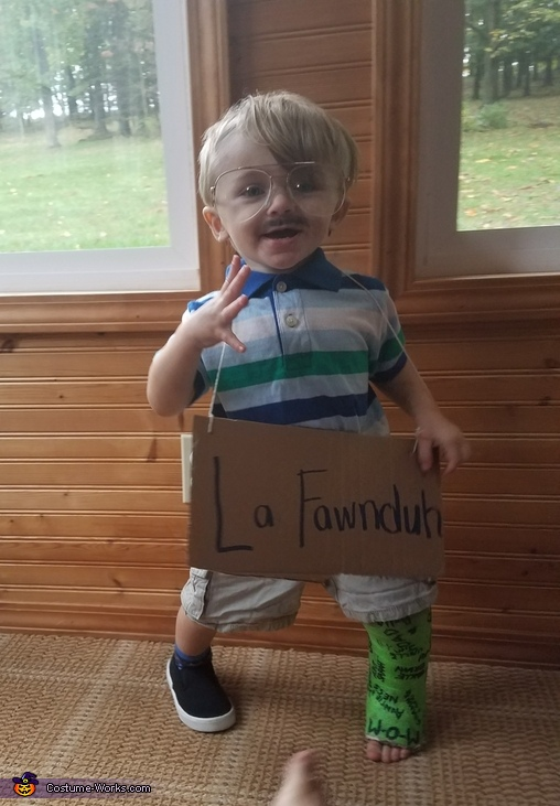 Kip Dynamite Homemade Costume