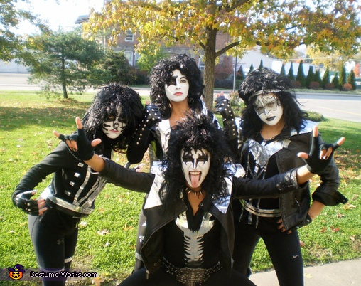 KISS - Homemade costumes for groups