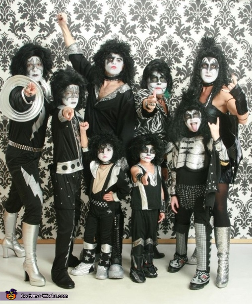 Kiss Group Costume