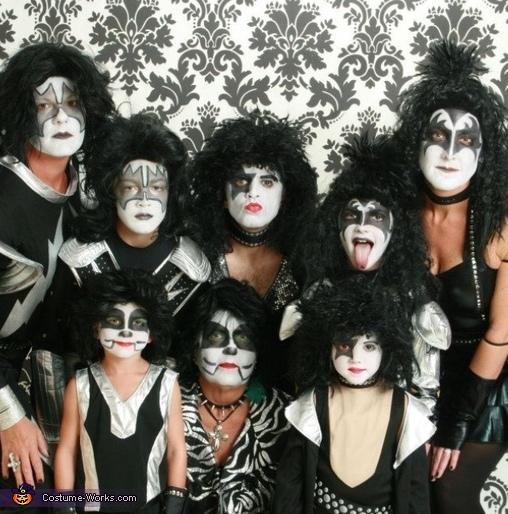 Kiss Group Costume
