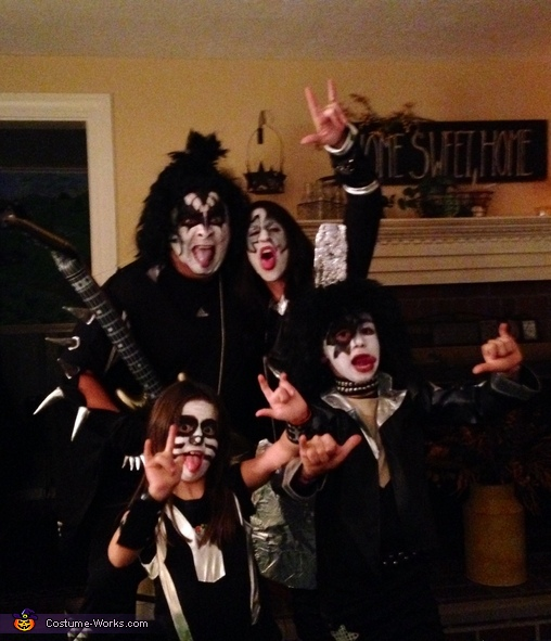KISS Family Costume