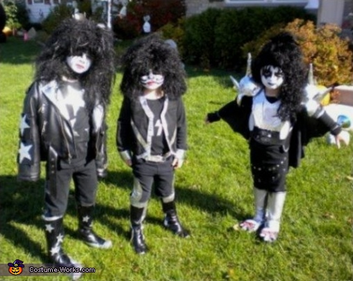 Kiss Band Costumes for Kids