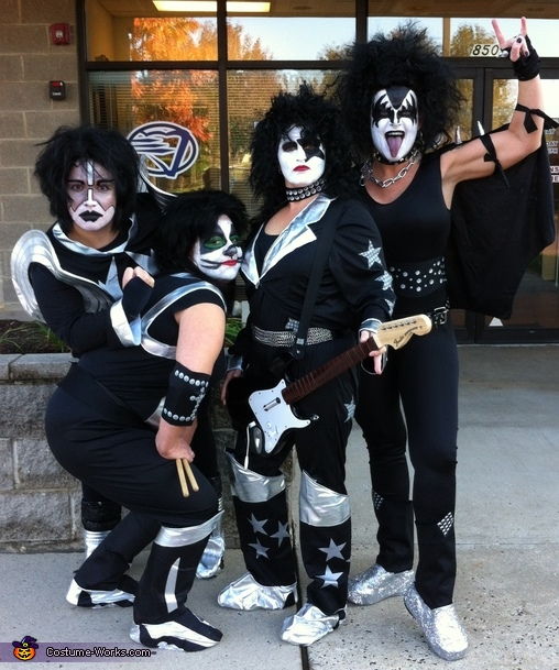 Kiss Band Costume