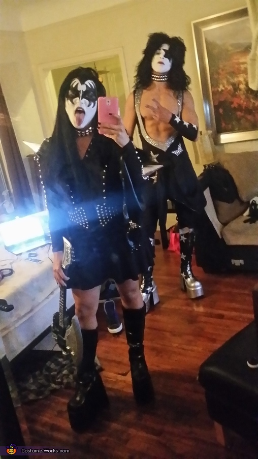 KISS Couple Costume