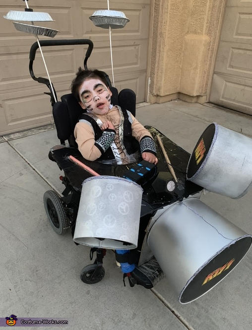 Jaxen's KISS Drum Costume