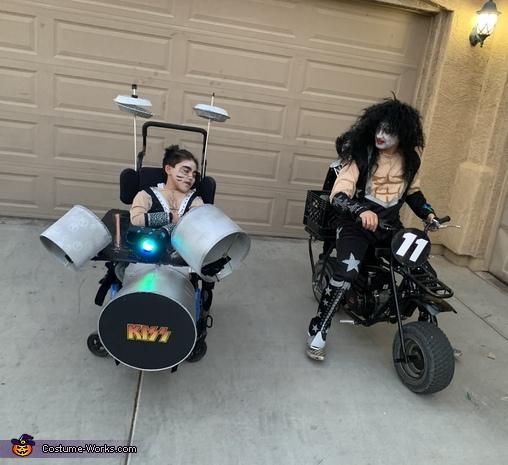 KISS Drummer Homemade Costume