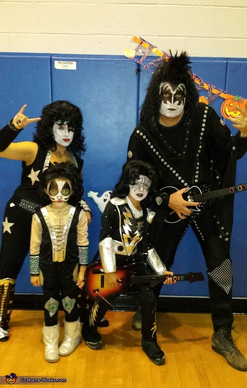 KISS Family Costumes