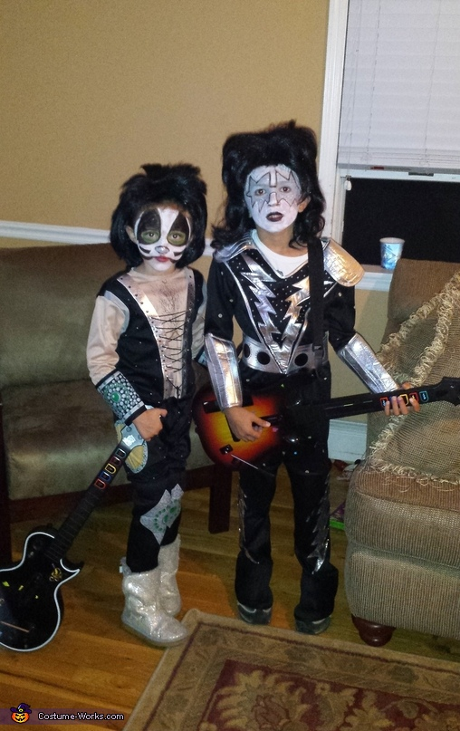 KISS Kids, KISS Family Costumes
