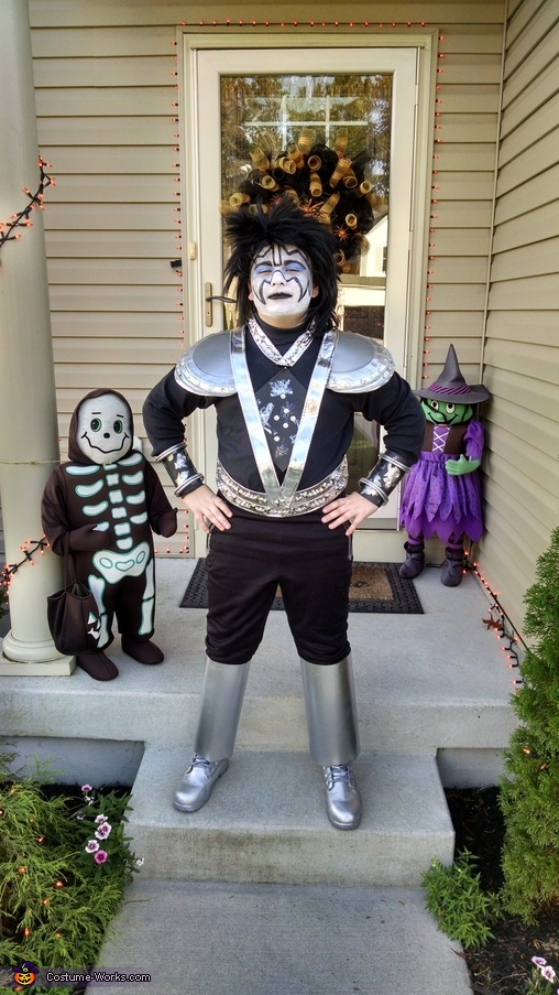 Spaceman, Kiss Family Costumes