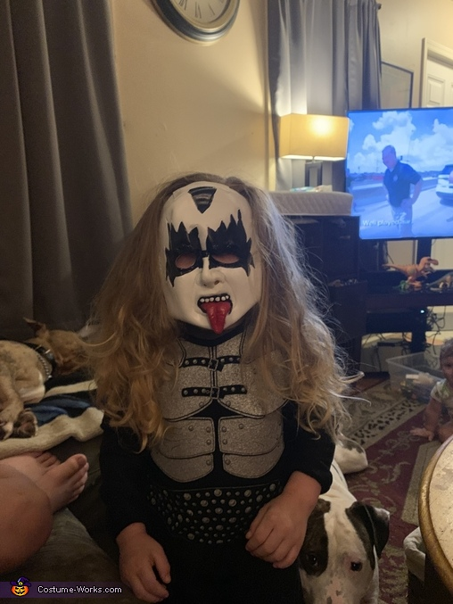 KISS Gene Simmons Homemade Costume