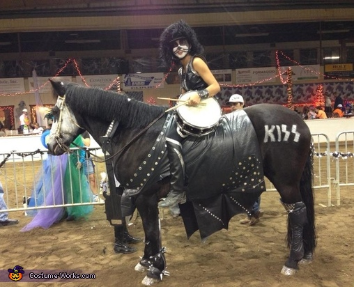 Side view. , Kiss Horse Costume