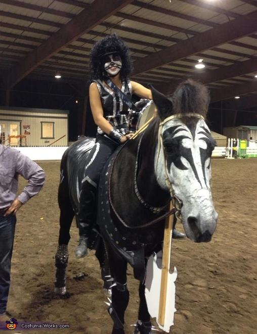 Kiss Horse Costume