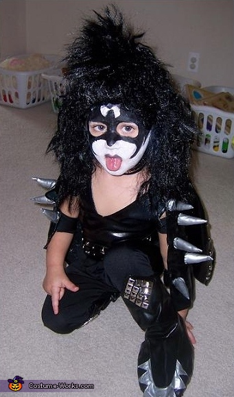 KISS Costume - Homemade costumes for kids