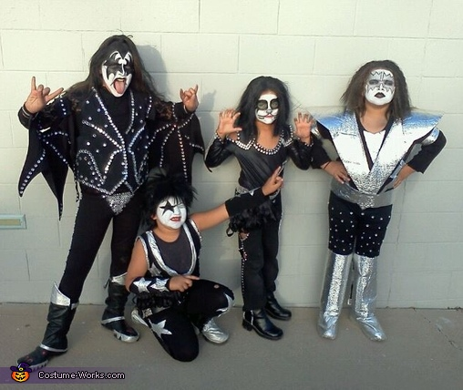 KISS Kids Costume