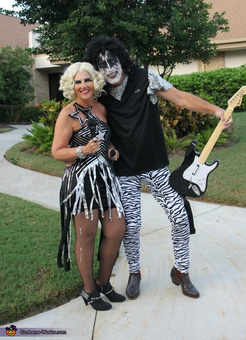 Kiss meets Lady Gaga Costume
