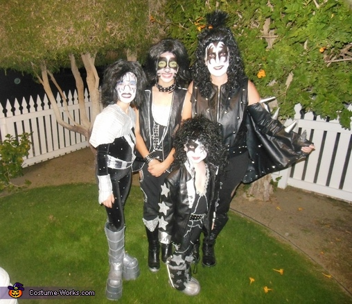 KISS Rock Band, KISS Rock Band Family Costume