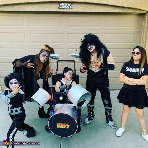 Kiss Tribute Costume