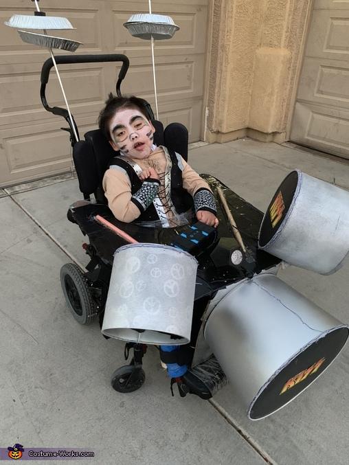 Jax!, Kiss Tribute Costume