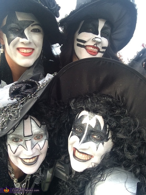 Kiss Witches Homemade Costume