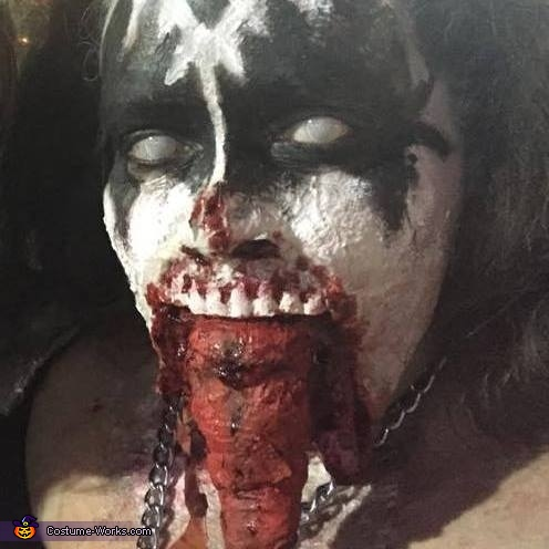 Kiss Zombies Homemade Costume