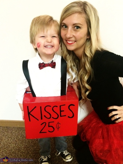 Kissing Booth Homemade Costume