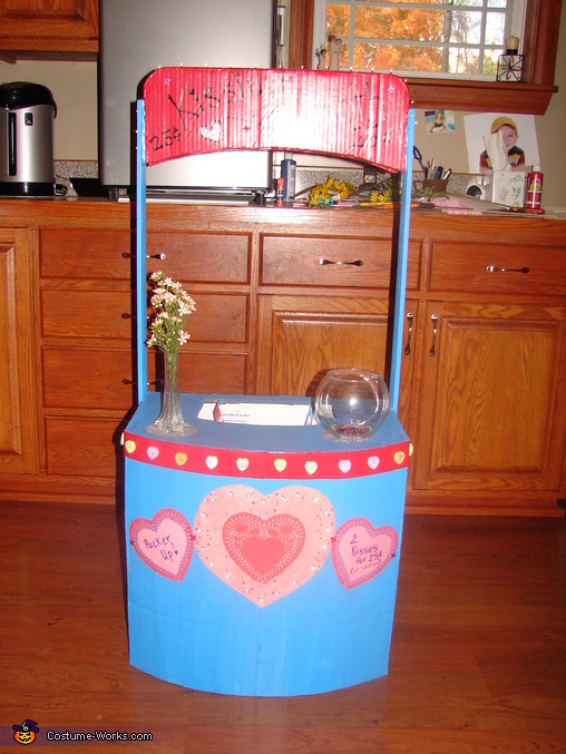 Completed Kissing Booth, Kissing Booth Costume